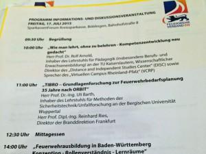 Versammlung des Landesfeuerwehrverbandes in Böblingen