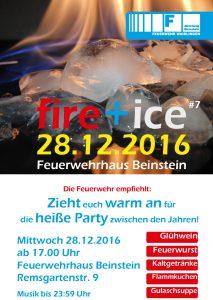 Fire+ice Feuerwehr Beinstein
